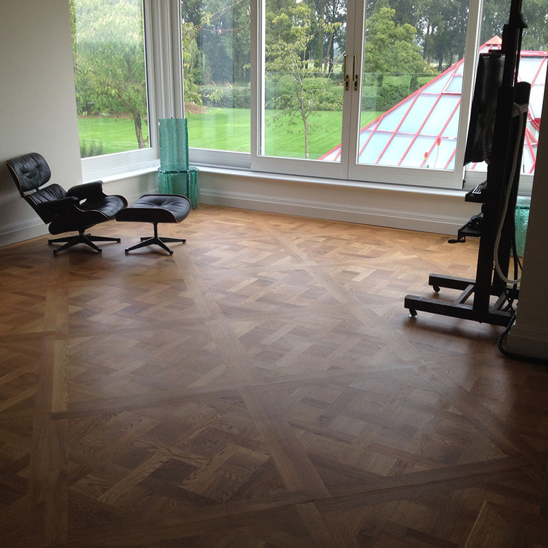 1.Versailles oak parquet flooring Reading