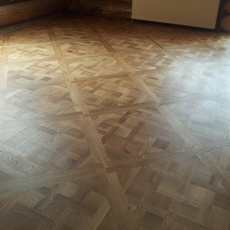 1.Traditional french oak parquet