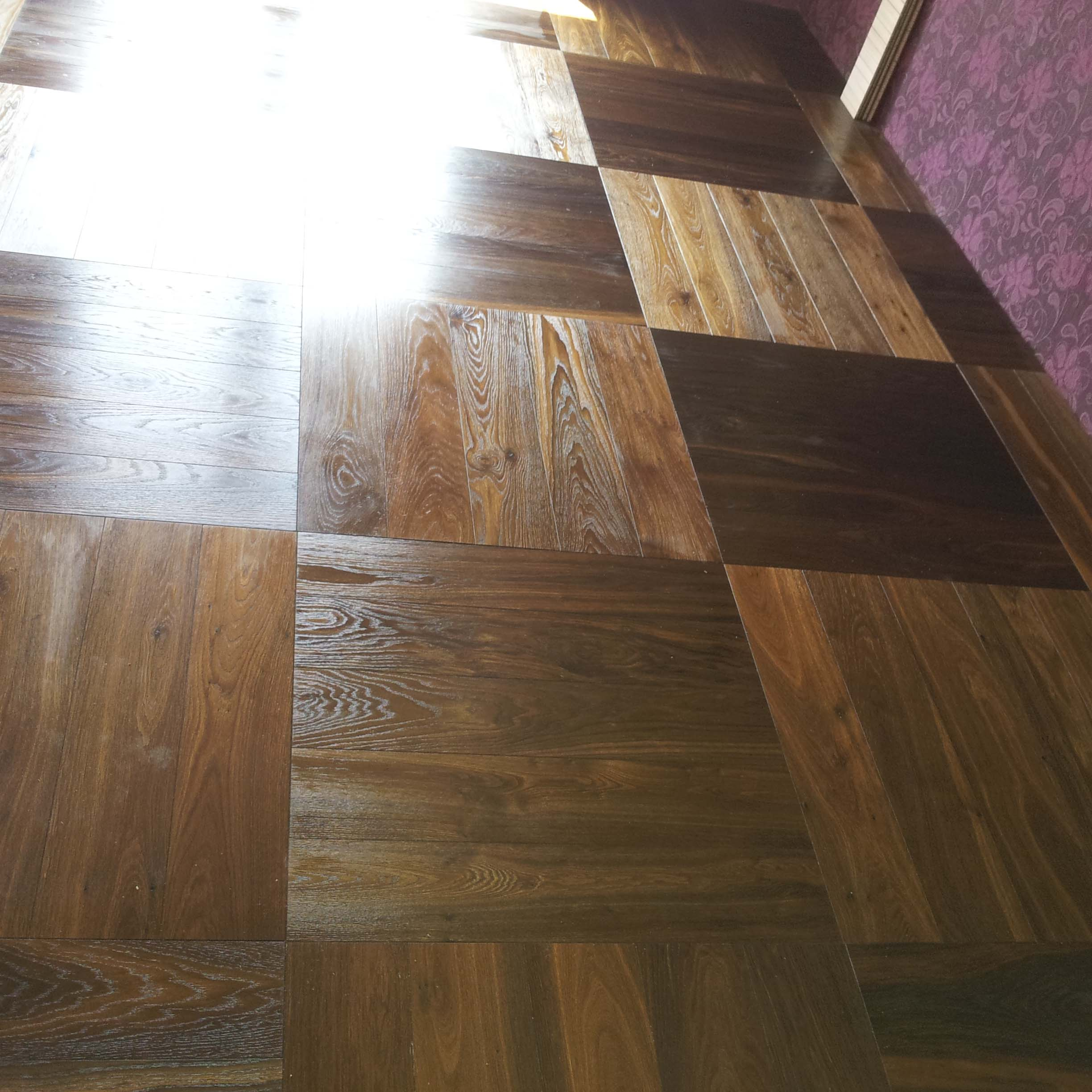 1.Oak Smoked Basket Weave parquet