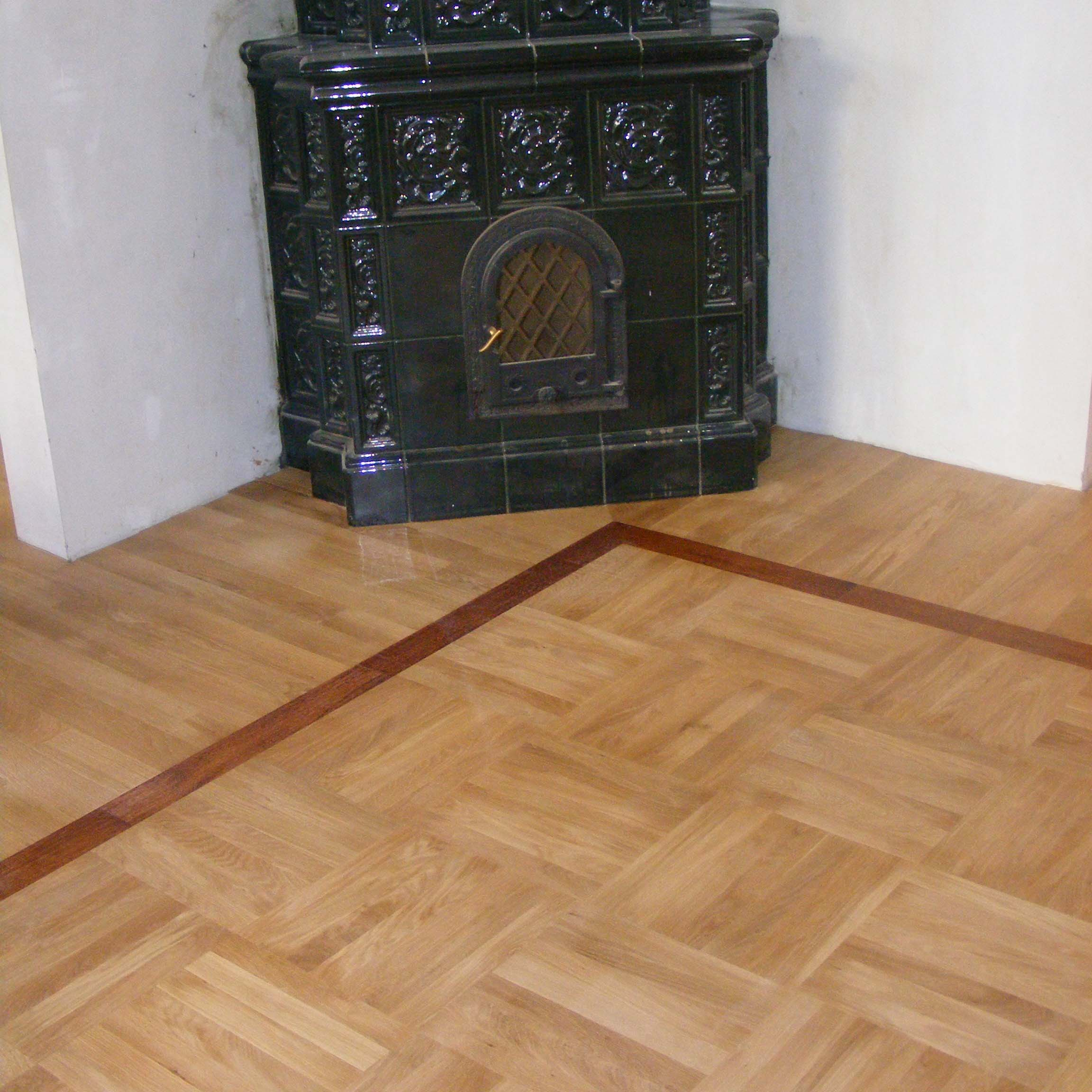 1.Solid oak flooring