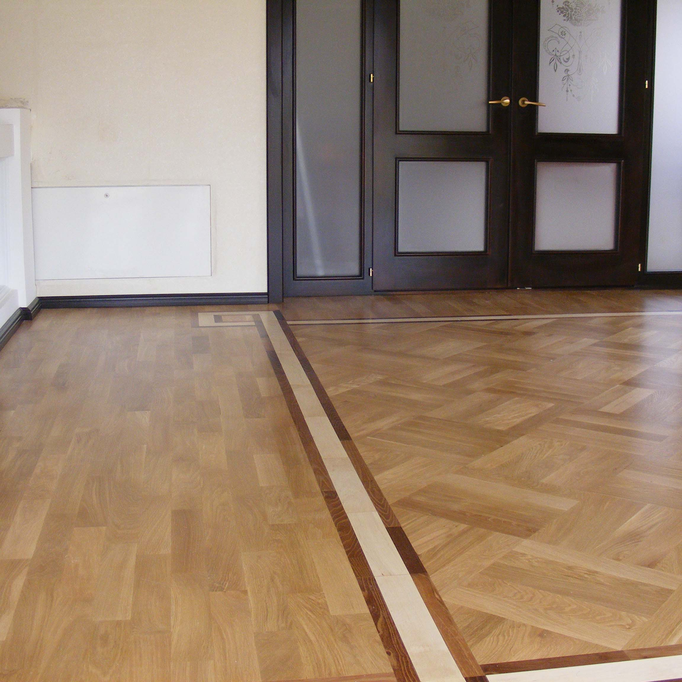 2.Laquered Solid Oak Parquet 20mm