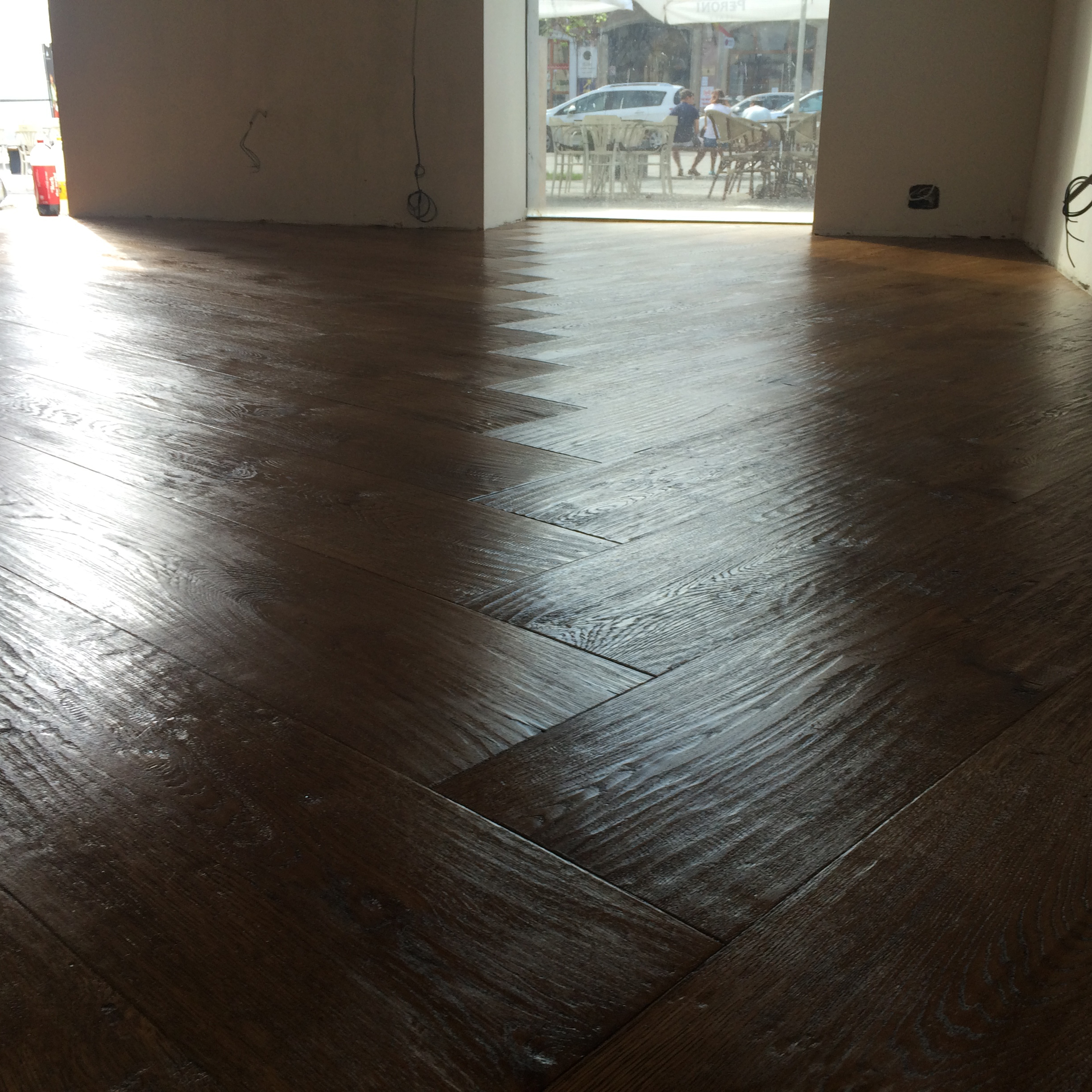 8.Oak Flooring Antique London