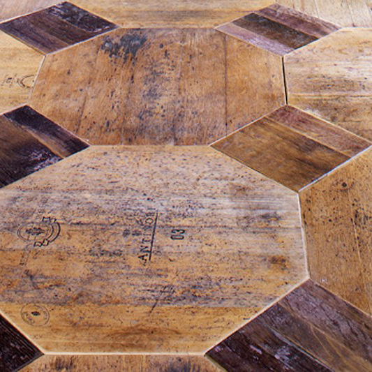 1.wood barrel parquet