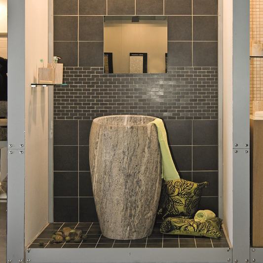 Washbasin Stone Column Washbasins