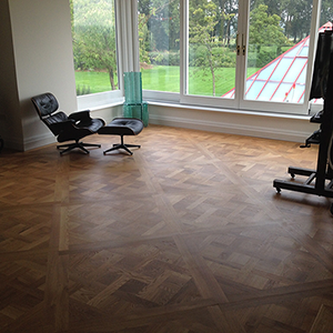 Versailles oak parquet flooring Reading