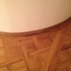 13. round wall oak skirting