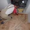 2. Versailles floor finished with wax