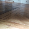 traditional old oak parquet
