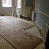 3.Versailles oak flooring install Chelsea London