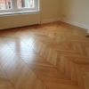 1.Chevron oak parquet 600x100x20mm Standard