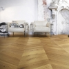 Chevron Flooring 500x100x20mm Rustic oil