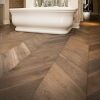 Chevron Flooring 600x120x15mm grey antique