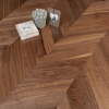 Chevron American Walnut 2layer 500x120x10mm Oiled