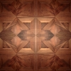 5.Walnut panel tiles oxidate and oiled
