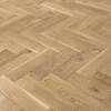 oak fishbone beveled 400x100X15mm natur lacquered brushed