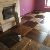7.Smoked oak flooring 2layer