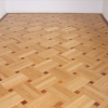 1.Basket Weave parquet with merbau inlays