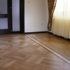 3.Oak parquet with ash and thermo ash border