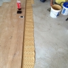2.Oak antique floor boards install