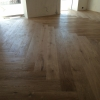 3.Hand Scraped oak floor