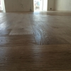 4.Oak floor hand scraped unfinished