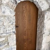 1.Castle oak brushed door