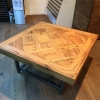 2.Versailles old oak coffe table